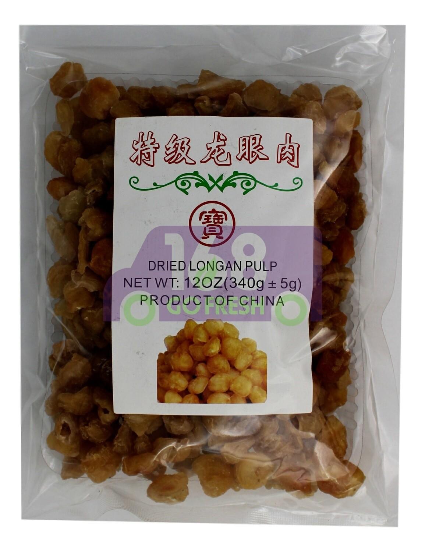 Dried Longan Pulp 宝牌 特级龙眼肉(龙眼干12OZ)