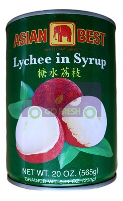 Asian Best Lychee in Syrup 亚洲第一 荔枝罐头