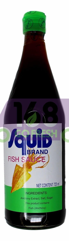 Squid Brand Fish Sauce 鱿鱼牌 鱼露