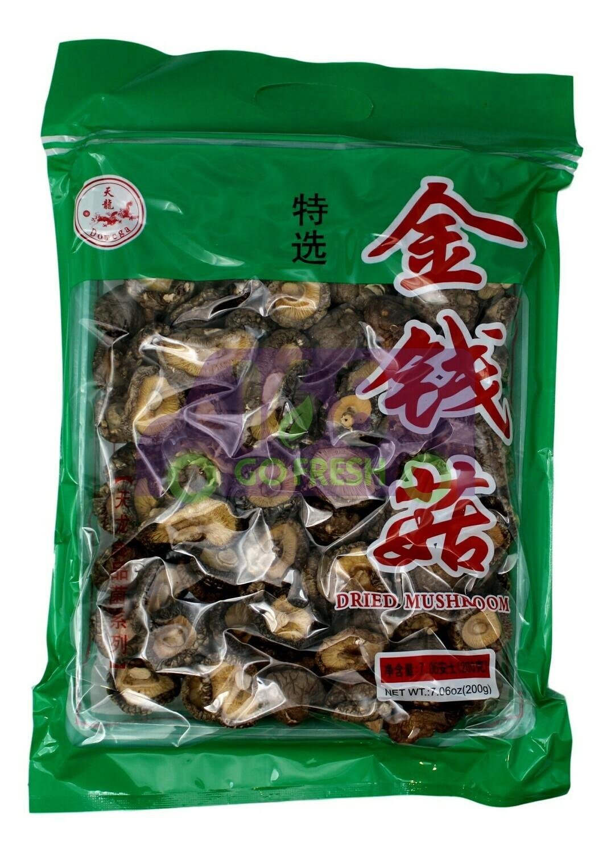 Dried Mushroom 天龙牌 金钱菇