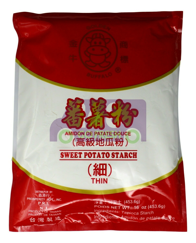 Golden Buffalo Sweet Potato Starch 金牛 番薯粉(粗/细)