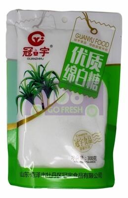 High Grade Fine Granulated Sugar 冠之宇 优质   棉白糖(300G)