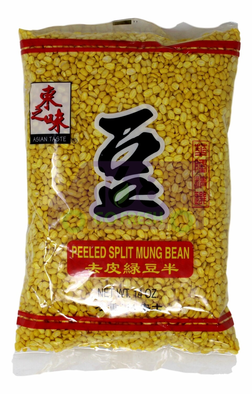 Asian Taste Peeled Split Mung Bean 东之味 去皮绿豆半 14OZ