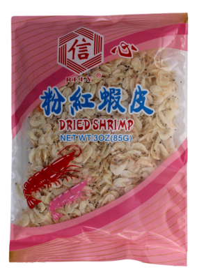 Rely Dried Shrimp 信心 粉红虾皮(3oz)