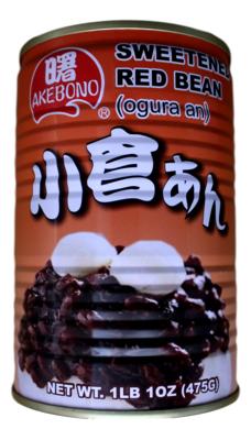 Sweetened Red Bean 罐装红豆沙