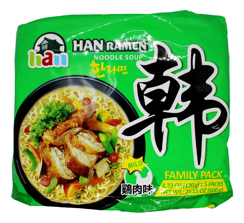 Han Ramen noodle soup 韩拉面