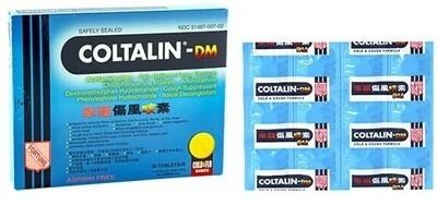 COLTALIN Cough pills 36 tablets 香港幸福伤风咳素 36片