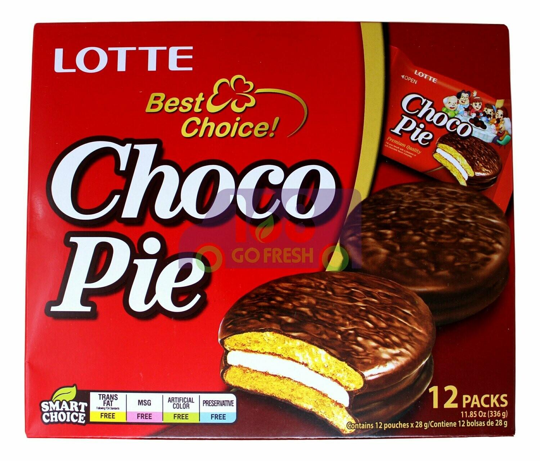 Lotte Choco Pie  乐天 巧克力派