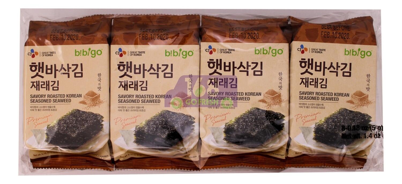 CJ ROASTED KOREAN SEASONED SEAWEED 韩国CJ即食烤紫菜