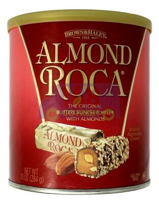 BROWN&HALEY - ALMOND ROCA 罐装巧克力杏仁糖