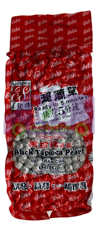 E FA BRAND BLACK TAPIOCA PEARL 易发牌黑珍珠波霸(2.2LB)
