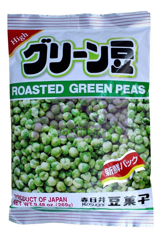 KASUGAI ROASTED GREEN PEAS 春日井 烤青豆(9.48OZ)