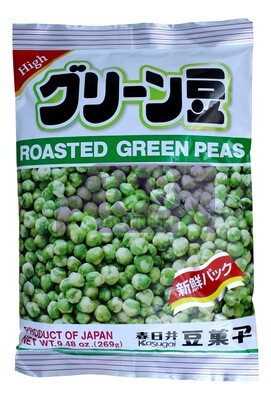 KASUGAI ROASTED GREEN PEAS 春日井 烤青豆(9.48OZ)