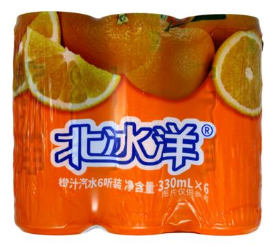 BEIBINGYANG SODA(6 CANS) 北冰洋 汽水(6罐)