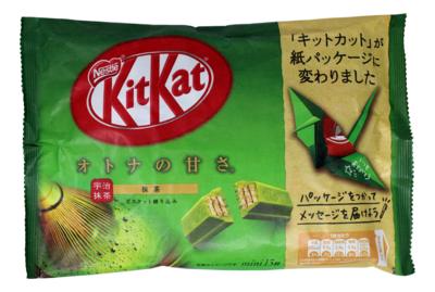 KITKAT GREEN TEA CHOCOLATE KITKAT 日本绿茶巧克力威化