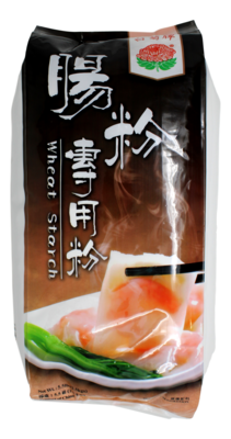 BAIJU WHEAT STARCH SPECIALLY FOR STEMED RICE ROLL 白菊 肠粉专用粉