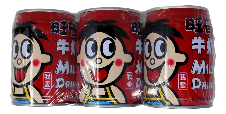 WANGWANG MILK DRINK(6CANS) 旺旺牛奶(6罐装)