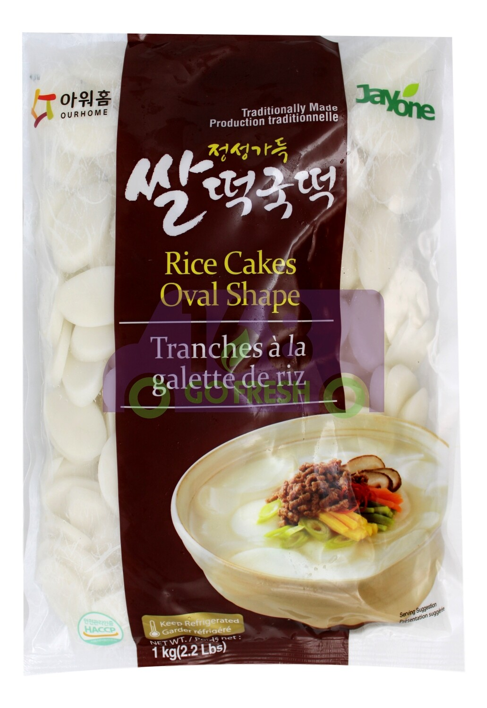 JAYONE RICE CAKE 韩国Jayone 年糕片(灰)
