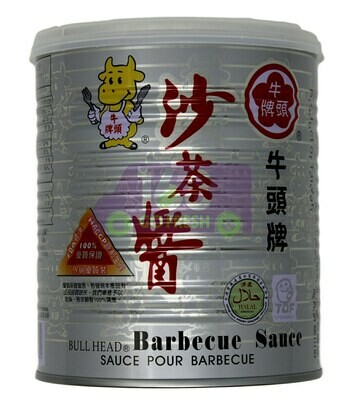 BULL HEAD BARBECUE SAUCE-L 牛头牌 沙茶酱(26OZ)