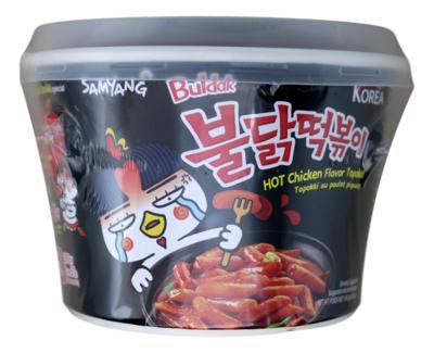 SAMYANG HOT CHICKEN FLAVOR TOPOKKI 韩国三养 火辣鸡味即食年糕条