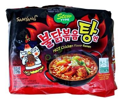 SAMYANG HOT CHICKEN STEW RAMEN 韩国 三养超辣拉面 炖鸡风味