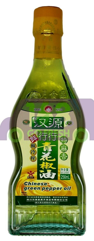 CHINESE GRN PEPPER OIL 行行 汉源青花椒油(266ML)