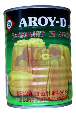 AROY-D JACK FRUIT IN SYRUP AROY-D 糖浆菠萝蜜罐头