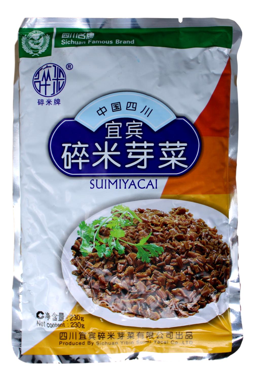 YIBIN PRED VEGETABLE 宜宾 碎米芽菜(230G)