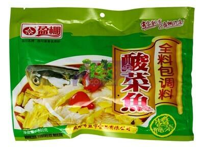 PICKLED VEGETABLE FISH SEASONING 盈鹏 酸菜鱼(280G)