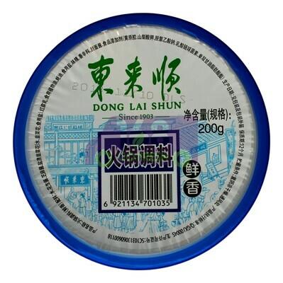 DONGLAISHUN DIPPING SAUCE 东来顺 火锅调料(200G)