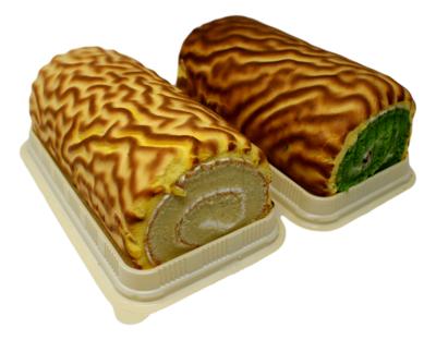 Tiger Cake Roll (包点)虎皮蛋糕(原味 奶油馅/绿茶红豆馅)