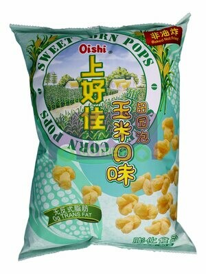 OISHI SWEET CORN POPS 上好佳 田园泡玉米口味(80G)