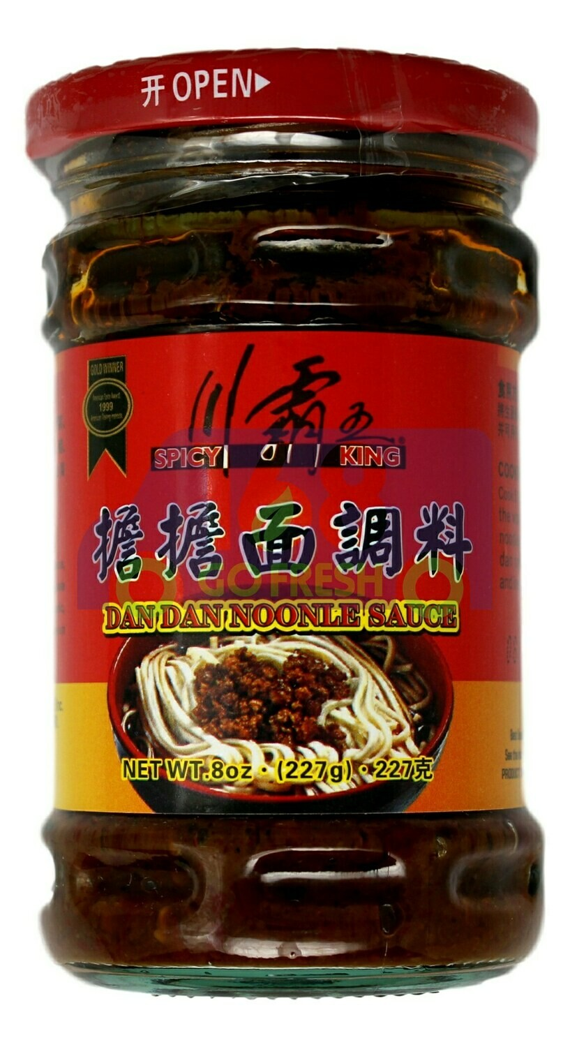 SPICY KING DAN DAN NOODLE SAUCE 川霸王担担面调料瓶装(227G)