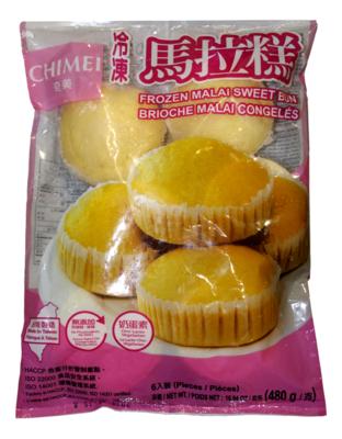 CHIMEI - FROZEN MALAI SWEET BUN 奇美 冰冻马拉糕(480G)
