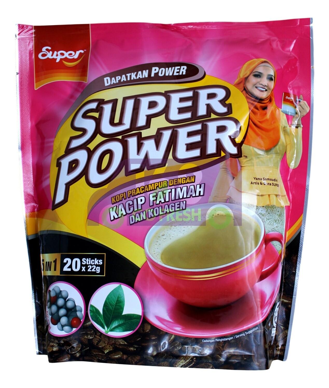 9555037203067 超级动力 即溶5合1咖啡(20条)