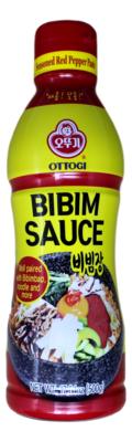 OTTOGI  RED PEPPER BIBIMBAP PASTE 韩国 不倒翁调味红辣椒拌饭酱(500G)