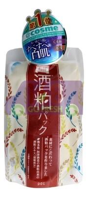PDC Wafood Sake Lees Face Pack 170g日本PDC酒粕冲洗型提亮肤色面膜170g