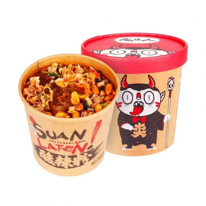 SHIZUREN HOT AND SOUR RICE NOODLE 食族人 酸辣粉(130G)