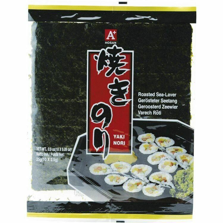 ROASTED SELAVER A+寿司 紫菜(10 full size)