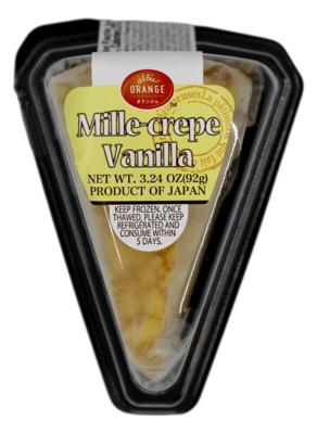 MILLE-CREPE CAKE - VANILLA 日本 香草千层蛋糕(3.24OZ)