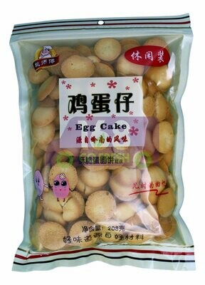EGG CAKE 姚师傅 原味鸡蛋仔(饼干208G)