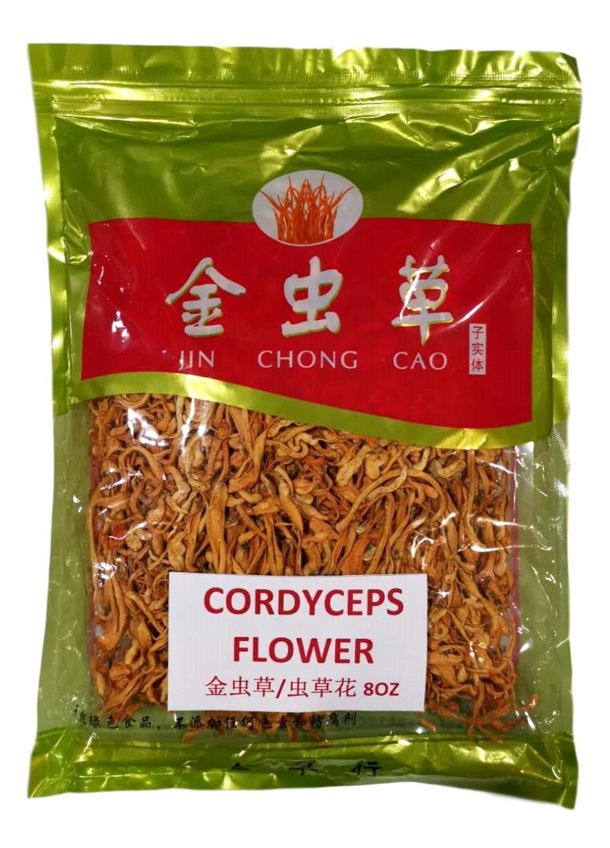 CORDYCEPS FLOWER金虫草/虫草花8oz