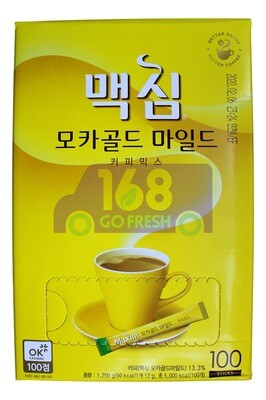 MAXIM COFFEE MIX  MOCHA GOLD MILD 韩国 摩卡咖啡MIX