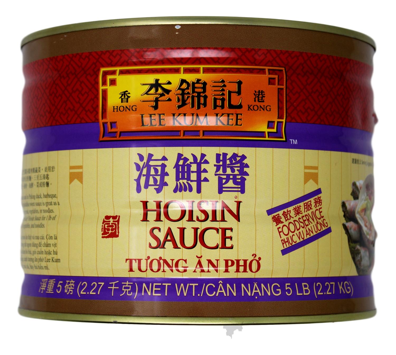 LKK HOISIN SAUCE-L 李锦记 海鲜酱铁罐装(5LB)