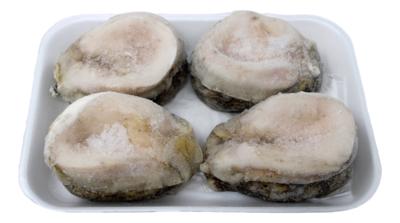 Large Halfshell Abalone(4Count) 半壳冰鮮大鲍鱼(4个)