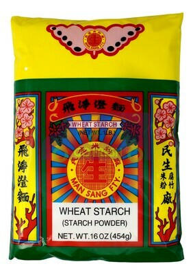 MAN SANG FTY WHEAT STARCH POWDER 民生 飞净澄面粉(16OZ)