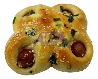 Hot Dog Onion Bun (2 Count) (包点)香葱热狗包 (2个)