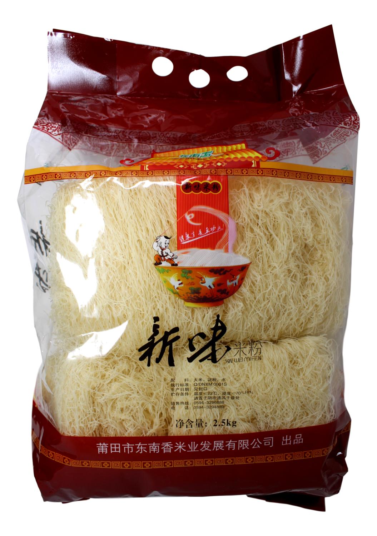 SE FRAGRANCE XIN WEI RICE VERMICELLI 新味米粉(2.5KG)