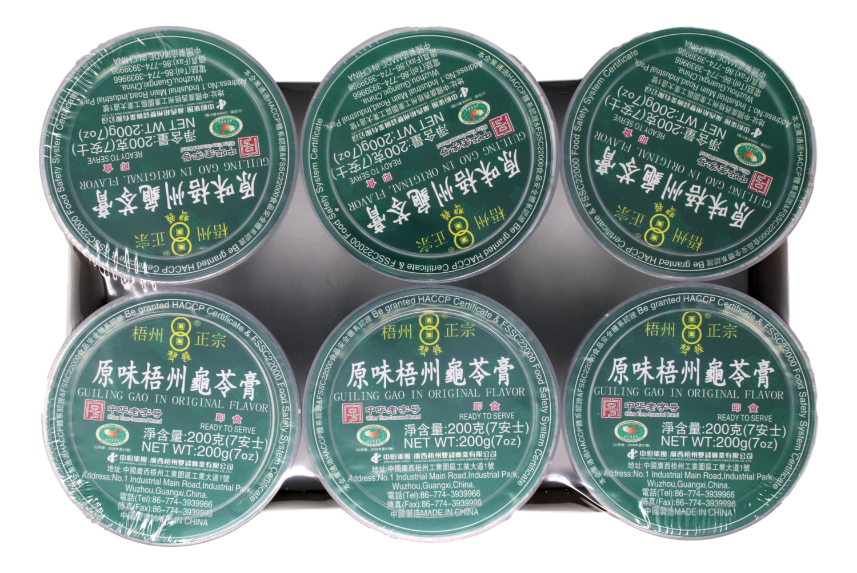 JELLY (GUI  LING  GAO) 梧州正宗龟苓膏(6个装)