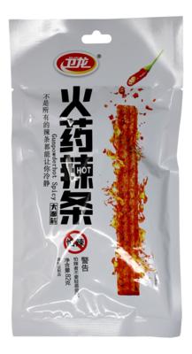 WEILONG SPICY GLUTEEN STRIPS 卫龙 火药辣条(82G)